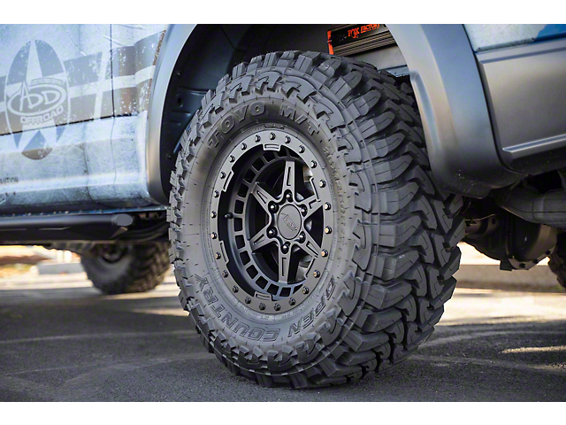 Addictive Desert Designs ADD PRO Matte Black 6-Lug Wheel; 17x8.5; 0mm Offset (15-20 F-150)