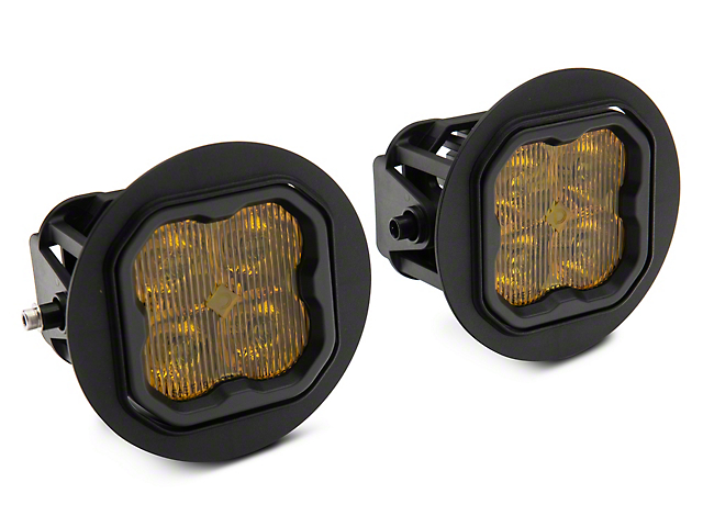 Diode Dynamics SS3 Sport Type FT LED Fog Light Kit; Yellow SAE Fog (07-13 Tundra)