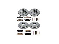 Power Stop OE Replacement Brake Rotor and Pad Kit; Front and Rear (99-Early 00 F-150 Lightning)