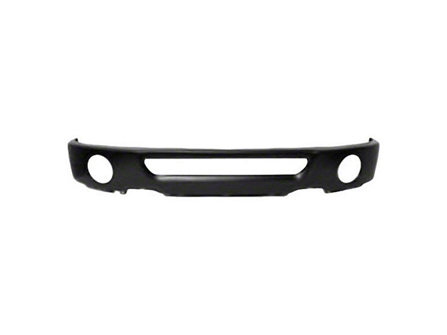 Front Bumper with Fog Light Openings; Black (06-08 F-150)