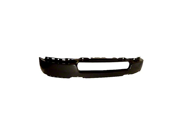 Front Bumper without Fog Light Openings; Black (04-05 F-150)