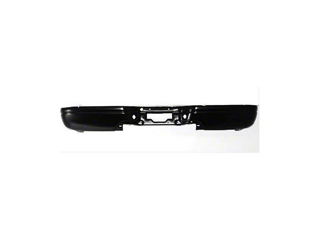 Rear Bumper; Black (97-03 F-150 Styleside Regular Cab, SuperCab)