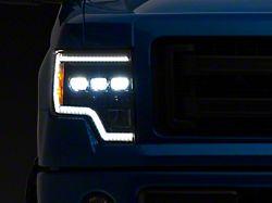 Morimoto XB LED Headlights; Black Housing; Clear Lens (09-14 F-150)