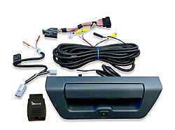 Infotainment TailGate Handle Backup Camera Kit with OBD Genie Rear View Camera Programmer (15-17 F-150 w/ 8-Inch Screen)
