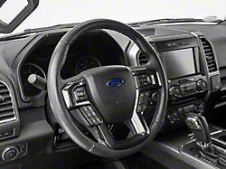 Alterum Steering Wheel Trim; Carbon Fiber (15-20 F-150)