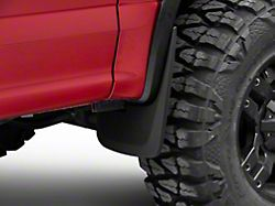 RedRock 4x4 Custom Molded Mud Guards; Front and Rear (15-20 F-150 w/ OE Fender Flares)