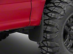 RedRock 4x4 Custom Molded Mud Guards; Front and Rear (15-20 F-150 w/o OE Fender Flares)