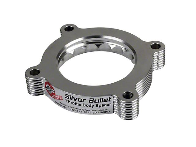 AFE Silver Bullet Throttle Body Spacer (11-14 V6)