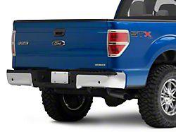 OEM Style Rear Bumper; Pre-Drilled for Backup Sensors; Chrome (09-14 F-150 Styleside)
