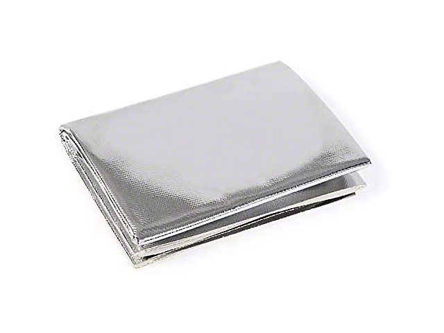Mishimoto Floor Pan Heat Shield; Aluminum Silica Heat Barrier; With Adhesive Backing; 24 Inch x24 Inch (Universal Fitment)