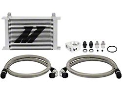 Mishimoto Universal 25-Row Non-Thermostatic Oil Cooler Kit; Silver (Universal; Some Adaptation May Be Required)