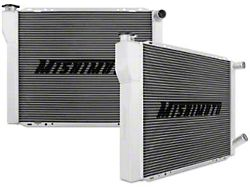 Mishimoto Universal Dual Pass Race Radiator (Universal; Some Adaptation May Be Required)