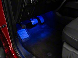 Axial LED Interior Courtesy Lighting