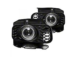 Halo Projector Fog Lights; Clear (99-03 F-150 Lariat, XL, XLT)