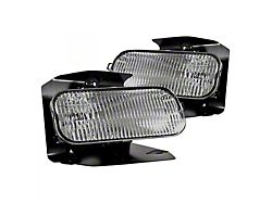 OE Style Replacement Fog Lights; Clear (99-03 F-150 Lariat, XL, XLT)