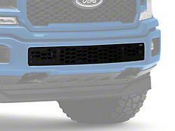 Hex Shield Lower Bumper Grille Insert; Black (18-20 F-150, Excluding Raptor)