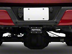 Raptor Hitch Cover; Rugged Black (Universal; Some Adaptation May Be Required)