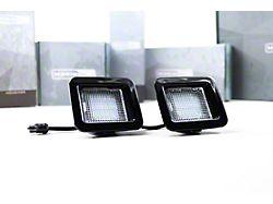 Morimoto XB LED License Plate Lights; Smoked (15-22 F-150)