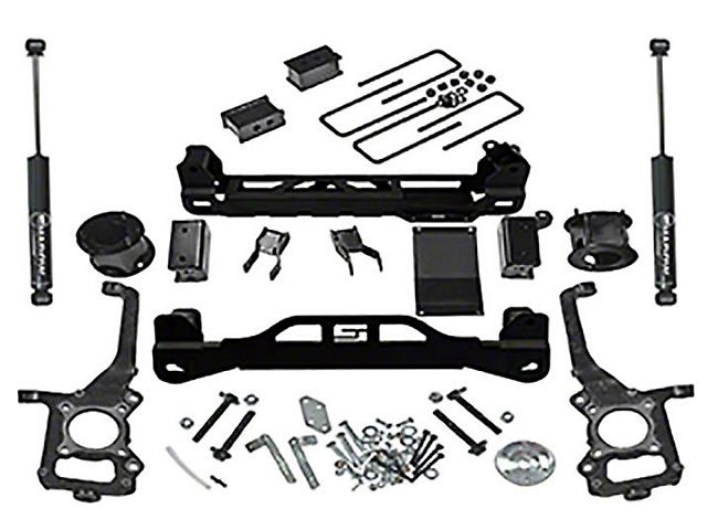 SuperLift 4.50-Inch Suspension Lift Kit with Bilstein Shocks (09-14 4WD F-150 SuperCab, SuperCrew, Excluding Raptor)