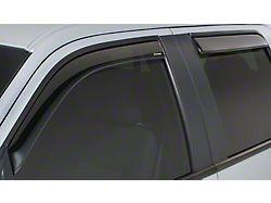 Side Window Deflector; 4 Piece; Smoke (15-20 F-150 SuperCrew)