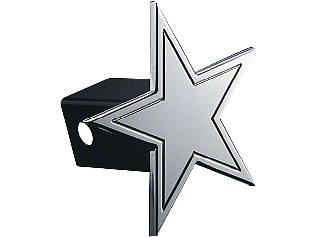 Star Hitch Cover; Polished