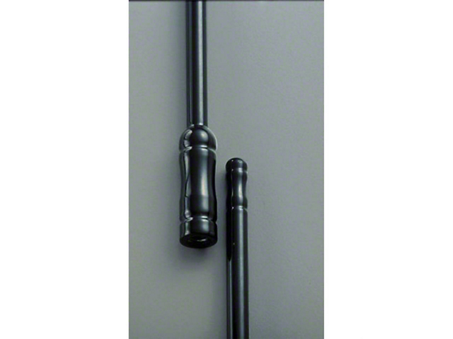Antenna; 9-Inch; Black Powder Coat