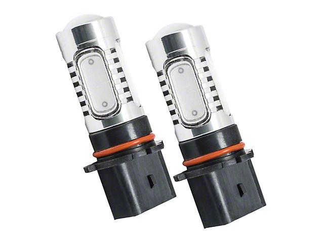 Oracle P13W Plasma LED Bulbs; Blue, Pair