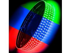 Oracle ColorSHIFT LED Illuminated Wheel Rings (Universal; Some Adaptation May Be Required)