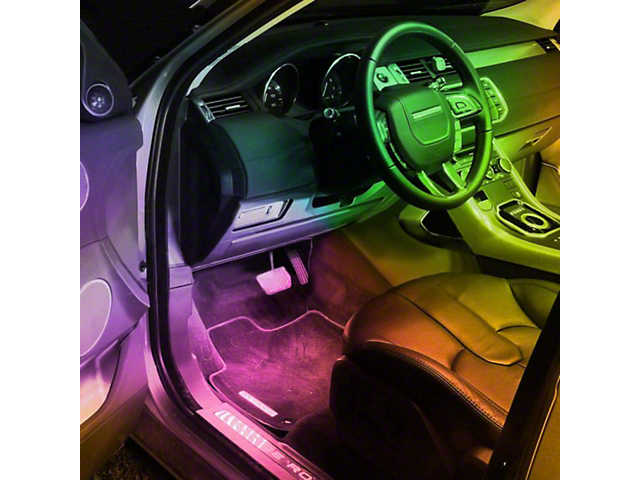 Oracle LED Strip; Interior Flex LED Spool, RGB ColorSHIFT