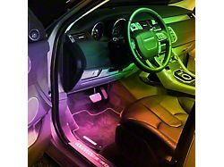 Oracle 200-Inch Interior Flex LED Spool; RGB ColorSHIFT (Universal; Some Adaptation May Be Required)