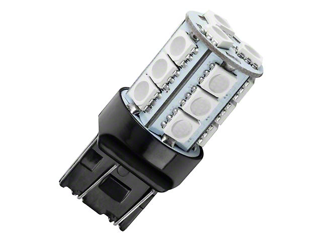 Oracle 7443 18 LED 3-Chip SMD Bulb; Red, Single