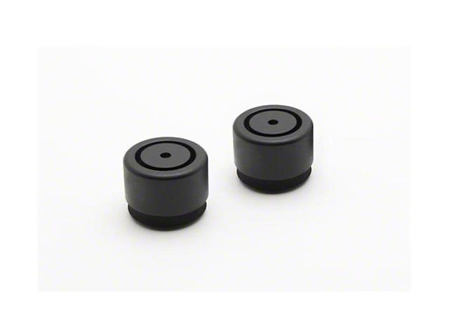 Diamond Dounts; Black; 1.90-Inch