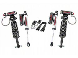 Rough Country 2-Inch Leveling Lift Kit with Adjustable Vertex Coil-Overs and Vertex Reservoir Shocks (14-20 4WD F-150, Excluding Raptor)