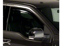 Element Tinted Window Visors; Channel Mount; Front and Rear (21-22 F-150 SuperCab)
