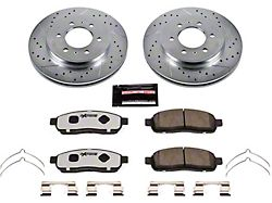 Power Stop Z36 Extreme Truck and Tow 6-Lug Brake Rotor and Pad Kit; Front (2009 F-150)