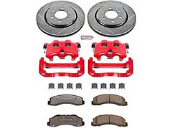 Power Stop Z36 Extreme Truck and Tow 6-Lug Brake Rotor, Pad and Caliper Kit; Front (12-20 2WD/4WD F-150)