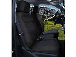 Coverking Cordura Ballistic Custom-Fit Rear Seat Cover; Black (15-20 F-150 SuperCab)