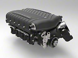Whipple W185RF 3.0L Intercooled Supercharger Competition Kit; Black; Stage 2 (2021 5.0L F-150)
