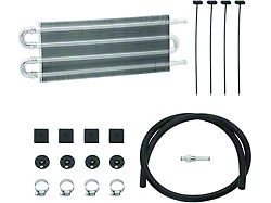 Transmission Oil Cooler Kit; 0.75 x 7.50 x 12.75-Inch; Medium Duty Tube and Fin