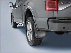 Ford Mud Guards; Rear (15-20 F-150 w/o OE Fender Flares)