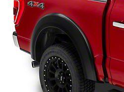 Bushwacker Extend-A-Fender Flares; Rear; Matte Black (21-22 F-150, Excluding Raptor)