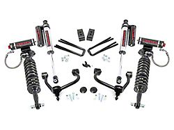 Rough Country 3-Inch Bolt-On Arm Suspension Lift Kit with Adjustable Vertex Coil-Overs and Vertex Reservoir Shocks (21-22 4WD F-150 SuperCab, SuperCrew, Excluding Raptor)