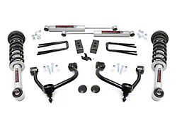 Rough Country 3-Inch Bolt-On Arm Suspension Lift Kit with Lifted N3 Struts and Premium N3 Shocks (21-22 4WD F-150 SuperCab, SuperCrew, Excluding Raptor)