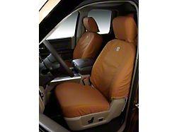 Covercraft SeatSaver Front Seat Covers; Carhartt Brown (09-14 F-150 w/ Bucket Seats)