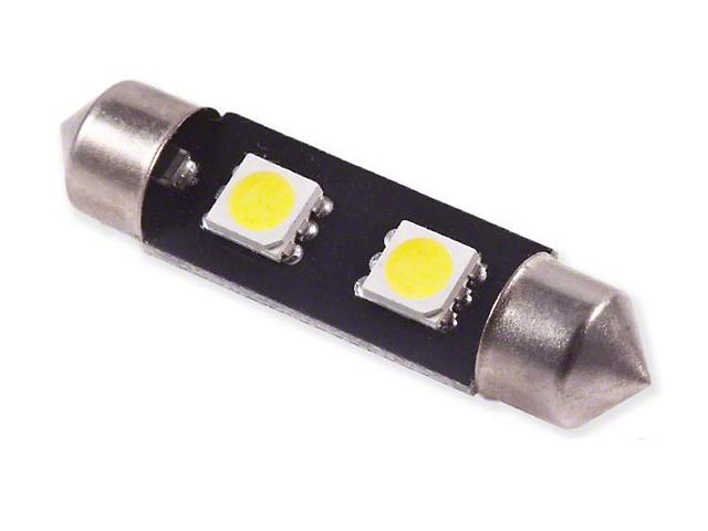 Diode Dynamics Warm White LED Dome Light Bulb; 39mm SMF2 (06-15 Tacoma)