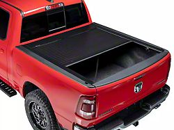 Pace Edwards JackRabbit Full Metal Retractable Bed Cover; Gloss Black (21-22 F-150 w/ 5-1/2 & 6-1/2-Foot Bed)