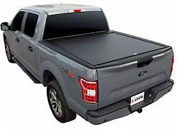 Pace Edwards BedLocker Retractable Bed Cover; Matte Black (21-22 F-150 w/ 5-1/2 & 6-1/2-Foot Bed)