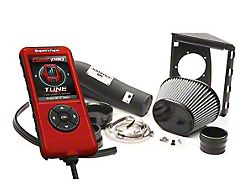 Superchips Jammer Dry Cold Air Intake and Flashpaq Tuner Combo Kit (11-14 5.0L F-150)