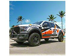 Air Design Dakar Style Off-Road Styling Kit with Fender Vents; Satin Black (15-17 F-150 SuperCrew, Excluding Raptor)