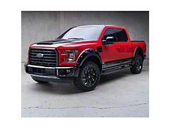 Air Design OE Style Off-Road Styling Kit with Fender Vents; Satin Black (15-17 F-150 SuperCrew, Excluding Raptor)